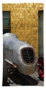 Vintage Racing Car Beach Towel