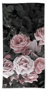 Vintage Roses In Pink 2  Beach Towel
