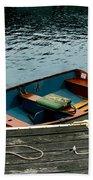 Vintage Rowboat Beach Towel