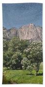 Vintage Yosemite Beach Towel