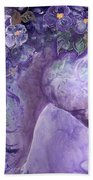 Violet Fantasy Beach Towel