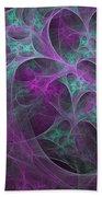 Violet Green Dimensions 16x9 Beach Towel