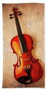 Violin Dreams Beach Towel