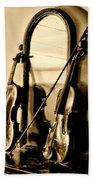 Violins Beach Towel