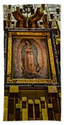 Virgen De Guadalupe 6 Beach Towel