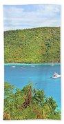 Virgin Island Getaway Beach Towel