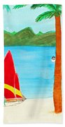 Virgin Island Memories Beach Towel