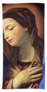 Virgin Of The Annunciation Beach Towel