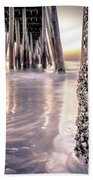 Virginia Beach Pier 2 Beach Towel