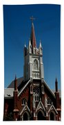 Virginia City Church St Mary Beach Towel