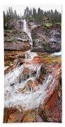 Virginia Falls - Glacier National Park Beach Sheet