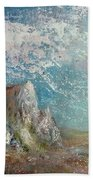 Virtual Mountain Beach Towel