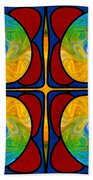 Visions Of Bliss And Abstract Artwork By Omaste Witkowski Beach Towel