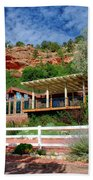 Visitor Center Best Friends Animal Sanctuary Angel Canyon Knob Utah 02 Beach Sheet