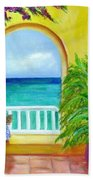 Vista Del Agua Beach Towel