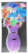 Vivid Arrangement Beach Towel