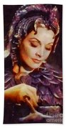 Vivien Leigh, Vintage Hollywood Actress Beach Towel