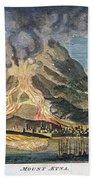 Volcano: Mt. Etna Beach Towel