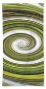 Vortex - River Frays Abstract Beach Towel
