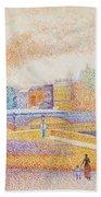 Vue De Paris 1885 Beach Towel