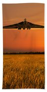 Vulcan Farewell Fly Past Beach Towel