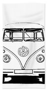 Bus  Beach Towel
