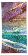 W 034-comet Beach Towel