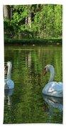 Wagner Vinyard Estate Swans Finger Lakes Lodi Ny Beach Towel