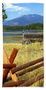 Wagon West Beach Towel by Marty Koch