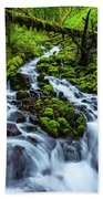 Wahkeena Beach Towel by Chad Dutson
