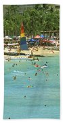 Waikiki Beach Beach Towel