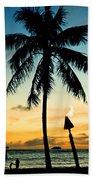 Waikiki Sunset Beach Towel