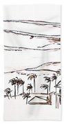 Waimea Bay Morning View Beach Towel