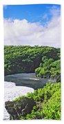 Wainapanapa State Park Beach Towel