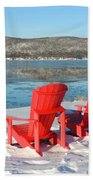 Waiting For The Summer Beach Towel
