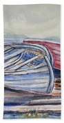 Waiting In The Cove Beach Towel