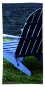 Waiting Beach Towel by Sandy Keeton