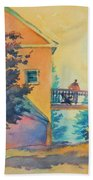 Waiting Until The Evening Comes Beach Towel