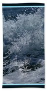 Wake Out Beach Towel