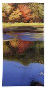 Walden Pond II Beach Towel