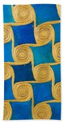 Wall Decoration From The Temple Of Amun At Malqata Beach Towel