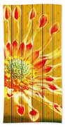 Wall Flower Beach Towel