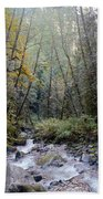 Wallace River Beach Towel