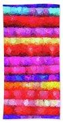 Wallart-multicolor Design Beach Towel
