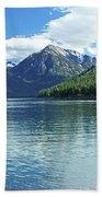 Wallowa Lake Oregon Beach Towel