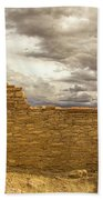 Walls Of Time Beach Towel