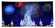 Walt Disney World Fireworks  Beach Sheet