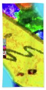 11-11-2015abcdefghijklmnopqrtuvwxyzabcdefghij Beach Towel