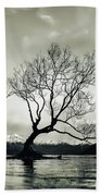 Wanaka Tree - New Zealand  Beach Towel