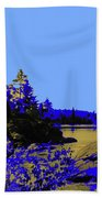 Wanapitae River Morning Beach Towel